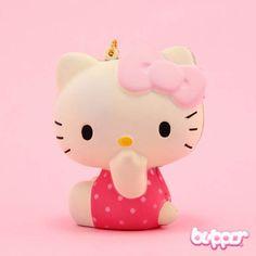 Squishy Hello Kitty Charm - Chuckle