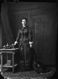 Princess Alice, Grand Duchess of Hesse in 1875 by Alexander Bassano