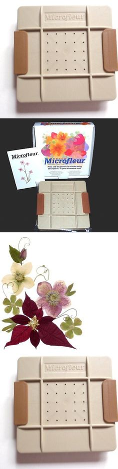 Dried Flowers 16493: Microfleur 5 13 Cm Microwave Regular Flower Press -> BUY IT NOW ONLY: $38.29 on eBay!