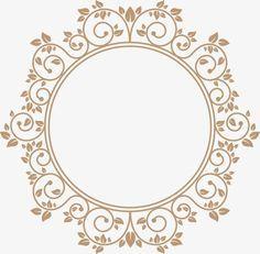 Circular frontera continental, Ronda, Frame, Vector PNG y Vector Wedding Logo Design, Monogram Wedding, Wedding Logos, Molduras Vintage, Flower Graphic Design, Cricut Monogram, Photos Booth, Doodle Frames, Wreath Drawing