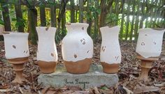 DIY Pottery Barn Inspired Tuscan Urns & Cachepots