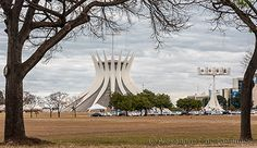 Metropolitan Cathedral of Our Lady of Aparecida, Brasilia, Brazil /  © Alexandre F de Fagundes