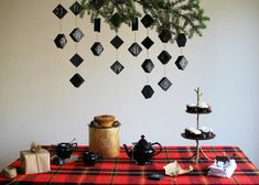 HOW TO MAKE A HANGING CHALKBOARD ADVENT CALENDAR — Hank and Hunt Party Crafts
