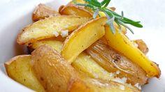 Lemon Potatoes: drizzle your oven roast potatoes with lemon juice! A savory Greek side dish...