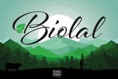 Animation BIOLAL // Sofia Doudine Graphiste Webdesigner B2B Freelance