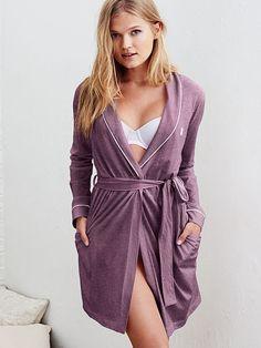 Sleepover Cotton Knit Robe - Victoria's Secret