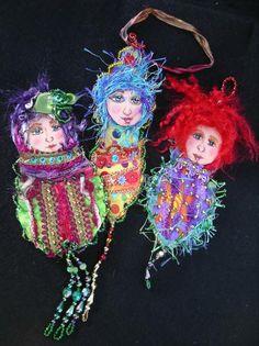 Art doll matrishkas
