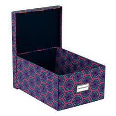 Jonathan Adler Positano Hexagons Collapsible #Storage #Box