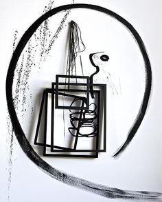 Zwarte fotolijsten #vtwonen Styling @Marianne Luning Fotografie Marc van Praag en Sunna Bijl