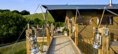 Our Luxury Glamping Lodges - Longlands Glamping in Norrth Devon Uk Tourism, North Devon, Canopy And Stars, Glamping, Lodges, Britain, Safari, Tent, England