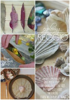 Exploring Reggio - a new series exploring the Reggio Emilia approach to learning. A great resource for including Reggio at home and in the classroom. by estelle Reggio Emilia Classroom, Reggio Inspired Classrooms, Preschool Classroom, Preschool Art, In Kindergarten, Classroom Ideas, Play Based Learning, Early Learning, Preschool Activities