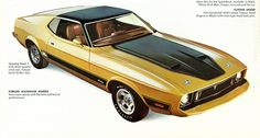 1973 Ford Mustang Mach I by coconv, via Flickr