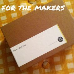 Want crafts delivered to your door monthly?   This months For The Makers box.   Check it out at www.forthemakers.com  | High Low Maintenance