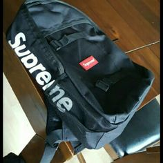 Supreme backpack Navy blue supreme backpack Supreme Bags Backpacks