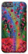 Raining Roses 2 IPhone Case featuring the art of Carol Cavalaris