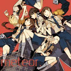 """""""Meteor"""" by りにりじ, fanart for Gundam Wing"""