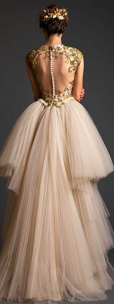 Krikor Jabotian Couture S/S My dream dress Evening Dresses, Prom Dresses, Formal Dresses, Wedding Dresses, Tulle Wedding, Dress Prom, Casual Dresses, Style Couture, Couture Fashion