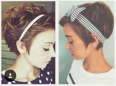 54 Best Headband. Short hair images  6ce1d7c07f8