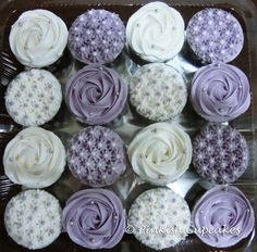 Purple Cupcakes perfect for Cupcake Wrappers from @Yvette Buchanan My Cupcake
