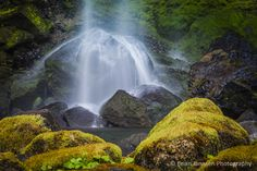 Elowah Falls, Columbia River Gorge, Oregon USA.