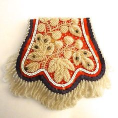 Antique-Vintage-Native-American-Iroquois-Beaded-Purse-Bag-Pouch
