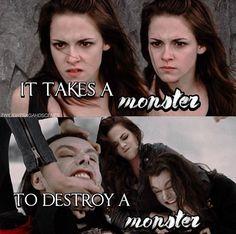 She takes the monster and kill the monster 🔪🔪💣 Twilight Saga Series, Twilight Edward, Twilight Cast, Twilight Photos, Twilight Series, Twilight Movie, Twilight Breaking Dawn, Breaking Dawn Part 2, Bella Cullen