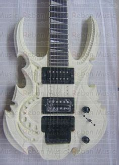 Brand New Hand Made Carved Electric Guitar Custom Made Free Shipping Cord Pick