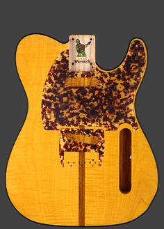 Warmoth Custom Guitar Products - Telecaster® Replacement Guitar Body