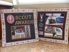 Beverly's Blog: K & Co. Scout Layout Notice the Boy Scout album that is in the picture!!