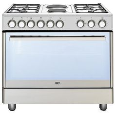 Choose from a wide range of gas or electric and gas/electric combo stoves from Defy. Multifunction Ovens, Gas, Gas Burners, Stove, Range Cooker, Appliance Shop, Stainless Steel Stove, Double Glass Doors, Stainless Steel