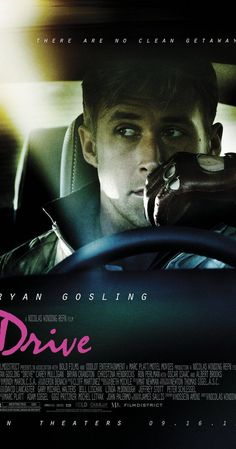 Directed by Nicolas Winding Refn.  With Ryan Gosling, Carey Mulligan, Bryan Cranston, Albert Brooks. A mysterious Hollywood stuntman and mechanic moonlights as a getaway driver and finds himself trouble when he helps out his neighbor.