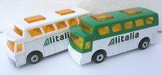 Matchbox Alitalia airport buses