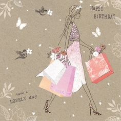 Birthday Ecards for Females Happy Birthday Ecard, Happy Birthday Flower, Happy Birthday Friend, Birthday Cards For Her, Happy Birthday Messages, Bday Cards, Happy Birthday Images, Birthday Love, Birthday Greetings
