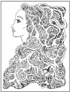 Colour Me Pretty On Pinterest Fairy Coloring Pages