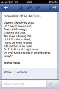 Jingle Bells, EMS style..
