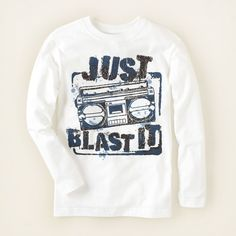 boy - graphic tees - blast it graphic tee | Children's Clothing | Kids Clothes | The Children's Place