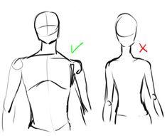 Body shoulder head