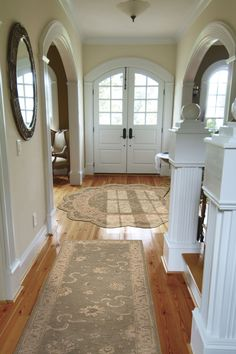 Variety of rugs in a soft color and beautiful pattern