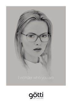 I wonder who you are.  #Gotti #eyewear #glasses #goetti #switzerland #Offensichtlich @IhrAugenoptiker