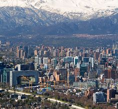 Santiago, Chile -- Mike's been here many times