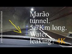 Marão tunnel leaking water? Water on the road at 01 minute and 29 seconds. Full zen crossing. Amarante - Vila Real. 5.7Km long. Portugal. 2016-05-15 (English). Túnel do Marão metendo água?  Água na via ao minuto 01 e 29 segundos. Travessia zen completa. Amarante - Vila Real. 5.7Km de comprido. Portugal. 2016-05-15 (Portuguese). Resolution: 4k UHD 2160p. ___ Watch the youtube.com/animalsinternet video at: https://www.youtube.com/watch?v=f_y1K_kUiag.