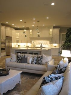 Cabinet Ideas For Living Room dining room small open plan kitchen living room design, pictures