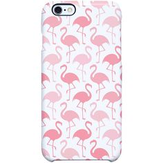 Uncommon Flamingo Fun iPhone 6 Plus SS Deflector Case ($29) ❤ liked on Polyvore featuring accessories, tech accessories, phone cases, phones et multi