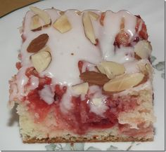Sour Cream Cherry Coffee Cake
