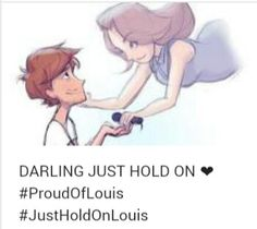 He is so strong! #ProudOfLouis #RiPJohannah We love you