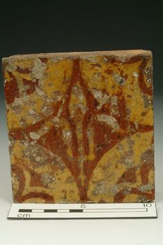 Floor tile Production Date: Late Medieval; 14th century