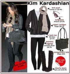 Get Kim Kardashian's Style For Less