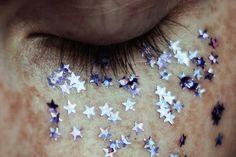 star glitter tears