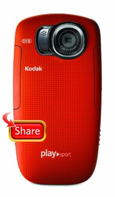 Kodak PlaySport (Zx5) HD Waterproof Pocket Video Camera – Red  (2nd Generation)  http://www.lookatcamera.com/kodak-playsport-zx5-hd-waterproof-pocket-video-camera-red-2nd-generation/