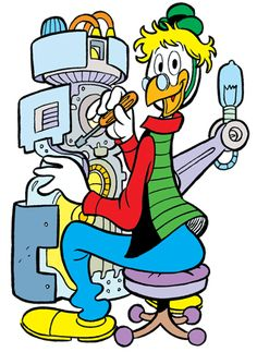 Gyro Gearloose screenshots, images and pictures - Comic Vine Vintage Cartoon, Vintage Comics, Pato Donald Y Daisy, Donald Duck, Disney Italia, Comic Book Characters, Disney Characters, Comic Books, Walt Disney Pixar